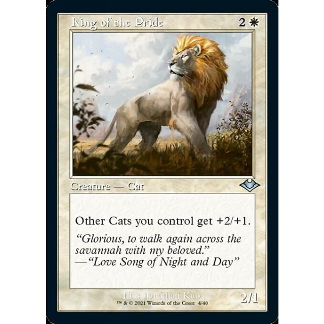 King of the Pride - Modern Horizons 1 Retro Frame Foil Etched - English - 4