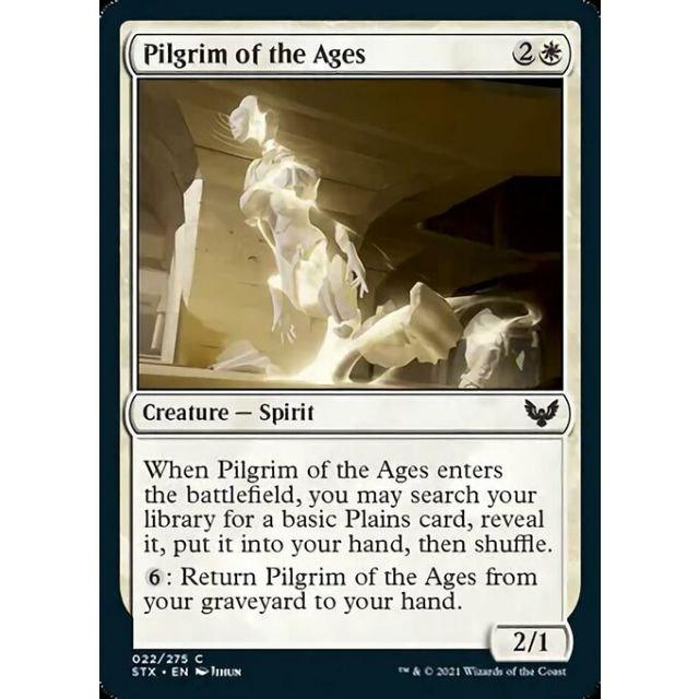 Pilgrim of the Ages - Strixhaven: School of Mages - English - FOIL - 22