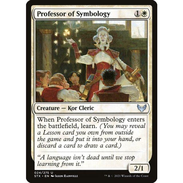 Professor of Symbology - Strixhaven: School of Mages - English - FOIL - 24