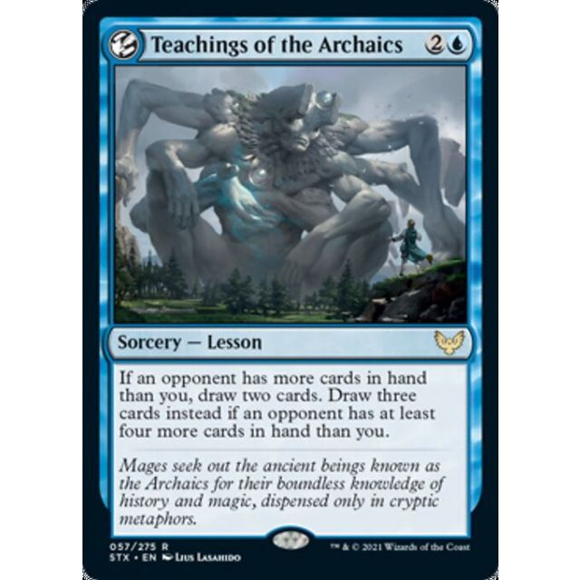 Teachings of the Archaics - Strixhaven: School of Mages - English - FOIL - 57