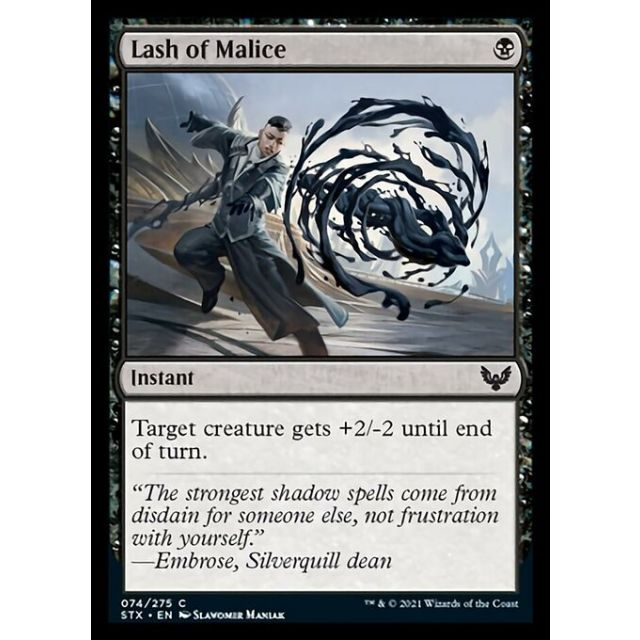 Lash of Malice - Strixhaven: School of Mages - English - FOIL - 74