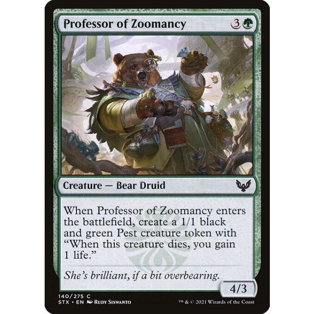 Professor of Zoomancy - Strixhaven: School of Mages - English - FOIL - 140