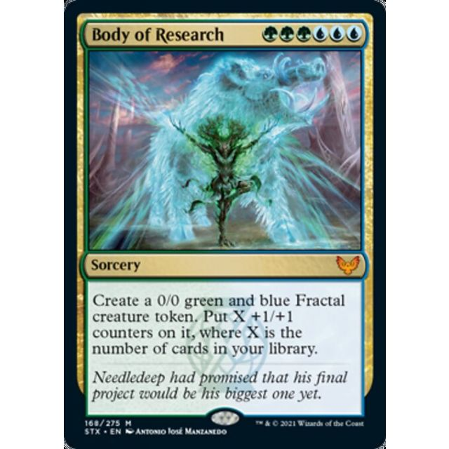 Body of Research - Strixhaven: School of Mages - English - FOIL - 168