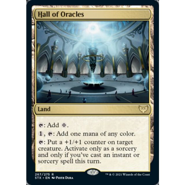 Hall of Oracles - Strixhaven: School of Mages - English - FOIL - 267