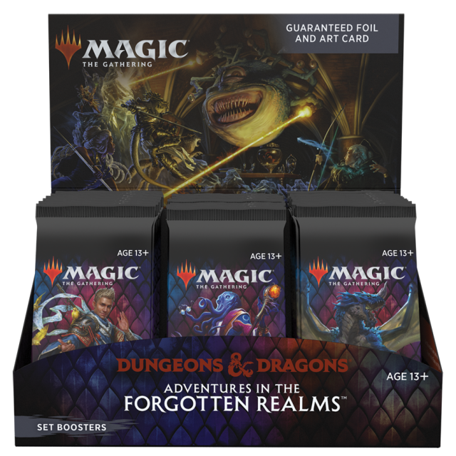 Adventures in the Forgotten Realms Set Booster Box English