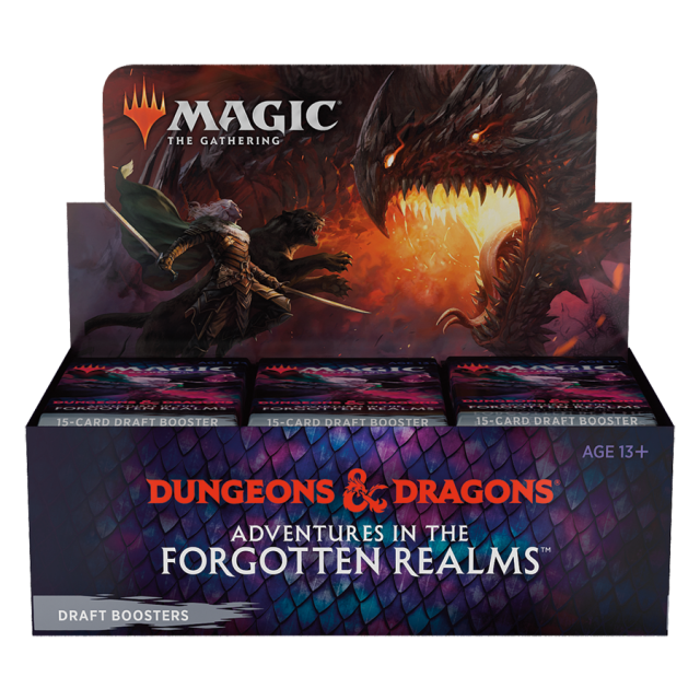 Adventures in the Forgotten Realms Draft Booster Box English