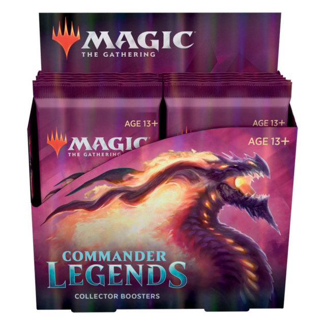 Commander Legends Collector Booster Box English