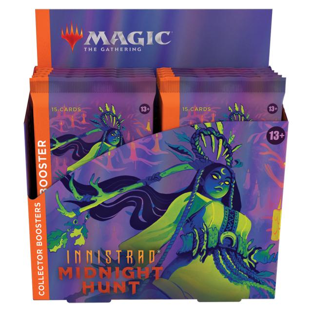 Innistrad: Midnight Hunt Collector Booster Box English