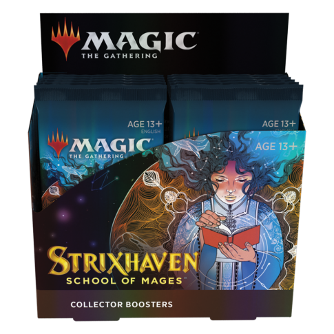 Strixhaven: School of Mages Collector Booster Box English