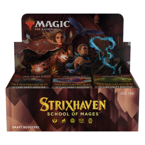 Strixhaven: School of Mages Draft Booster Box English