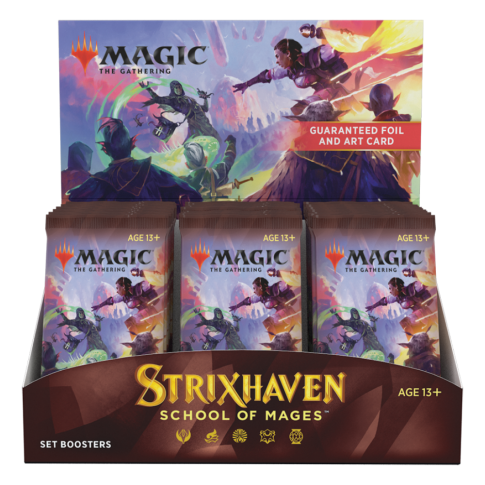 Strixhaven: School of Mages Set Booster Box English